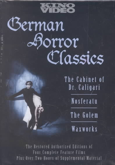 GERMAN HORROR CLASSICS (DVD)